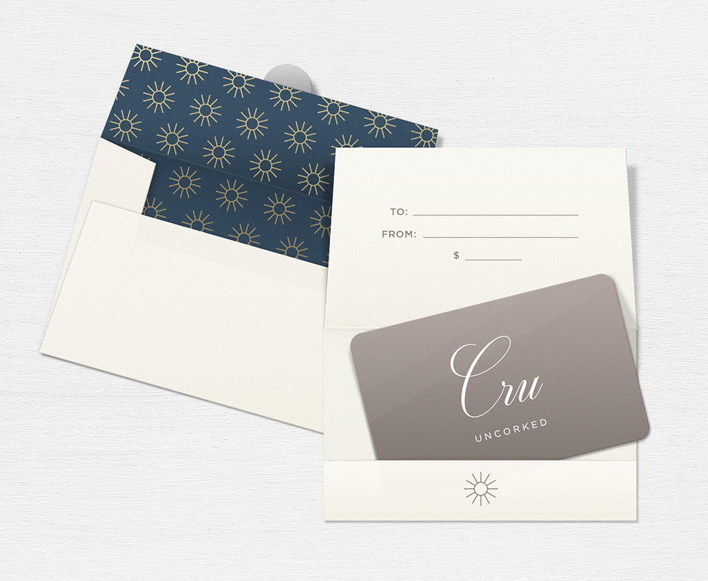 Cru Uncorked Gift Card