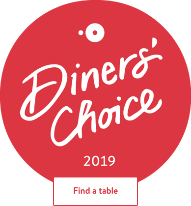 Open Table Diners' Choice Award 2019